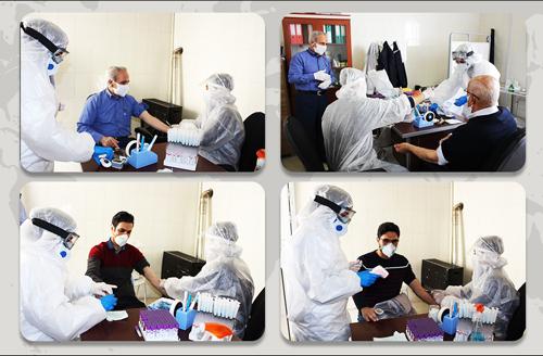 اقدامات لازم برای مقابله با ویروس کرونا در شرکت آکپا ایران انجام شد