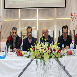 جلسه مدیران شرکت های خدماتی شهرک های صنعتی استان برگزار شد
